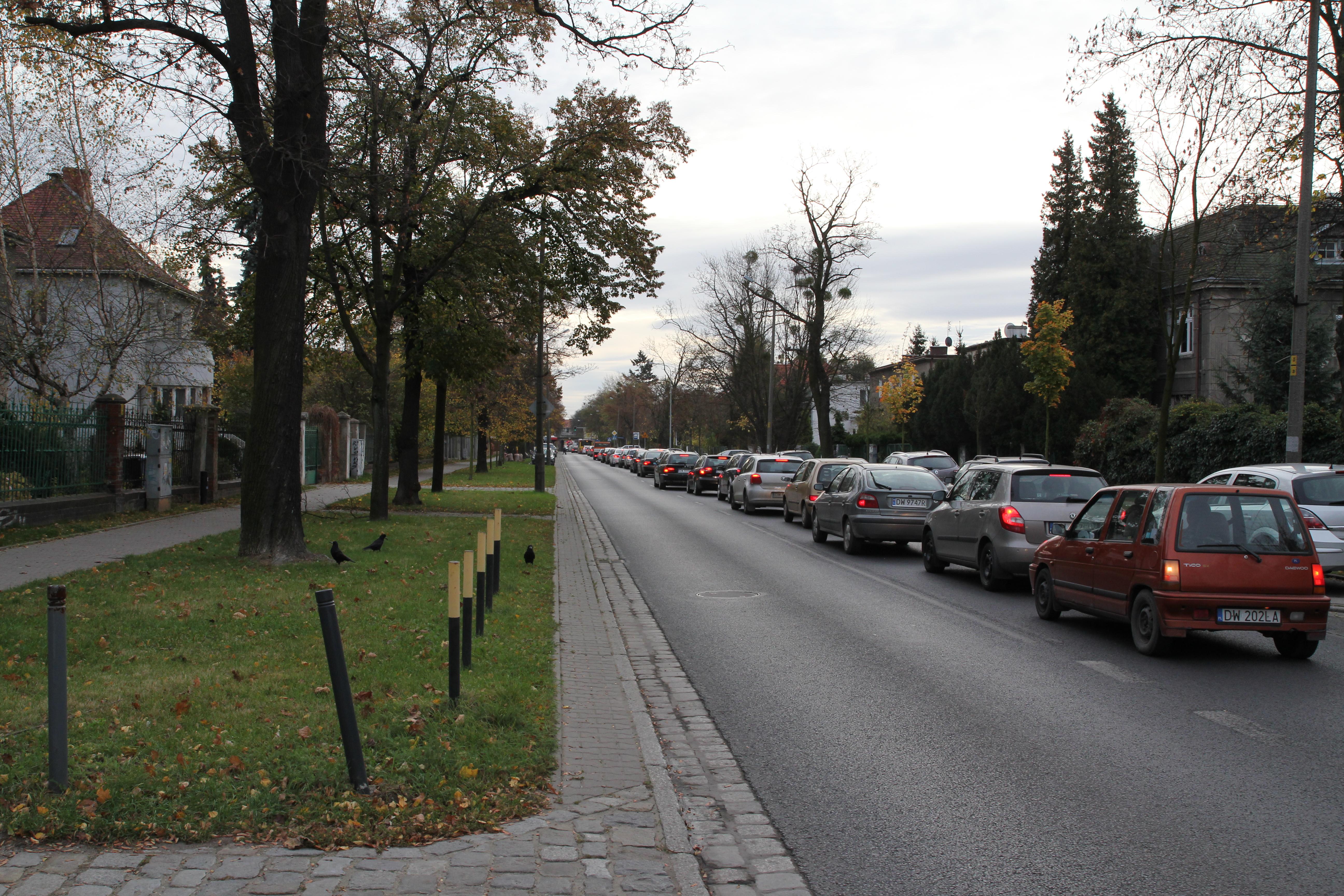 Ulica Boya-Żeleńskiego na Karłowicach we Wrocławiu