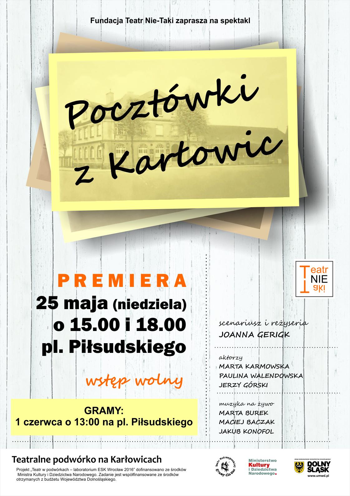 plakat Pocztówki z Karłowic_m