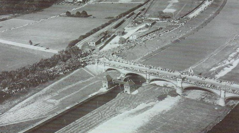 Mostu Osobowickiego i śluzy Różanka