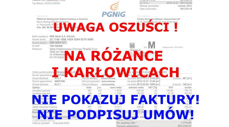 Oszuści na Różance i Karłowicach