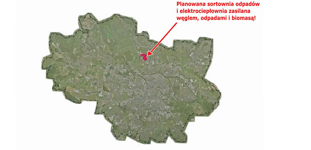 01 Lokalizacja spalarni odpadów Wrocław