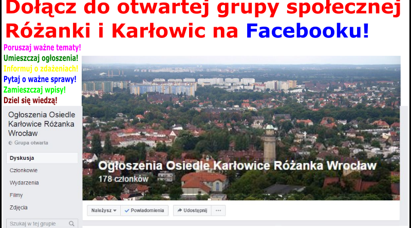 Grupa na facebooku