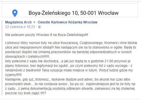 Poczta Karłowice Boya Żeleńskiego 02