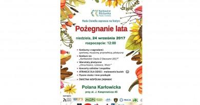 """24 września 2017 – Festyn Osiedlowy – """"Pożegnanie Lata"""""""