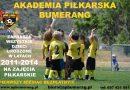 Akademia Piłkarska Bumerang zaprasza maluszki na miesiąc bezpłatnych zajęć piłkarskich.