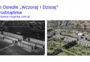 """Nasze Osiedle """"Wczoraj i Dzisiaj"""" – ulice Grudziądzka i Krzywoustego (w tle Czajkowskiego i Koszarowa) we Wrocławiu"""