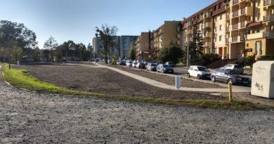 Remont skweru przy ulicy Zawalnej w toku!