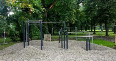 Historyczna ścieżka zdrowia w Parku Kasprowicza